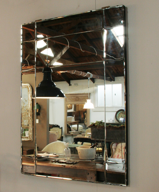 Art Deco Sectionned Mirror Haunt Antiques For The Modern Interior