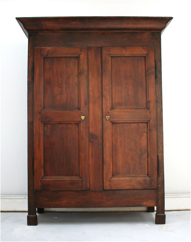 french louis philippe pine armoire haunt antiques for. Black Bedroom Furniture Sets. Home Design Ideas