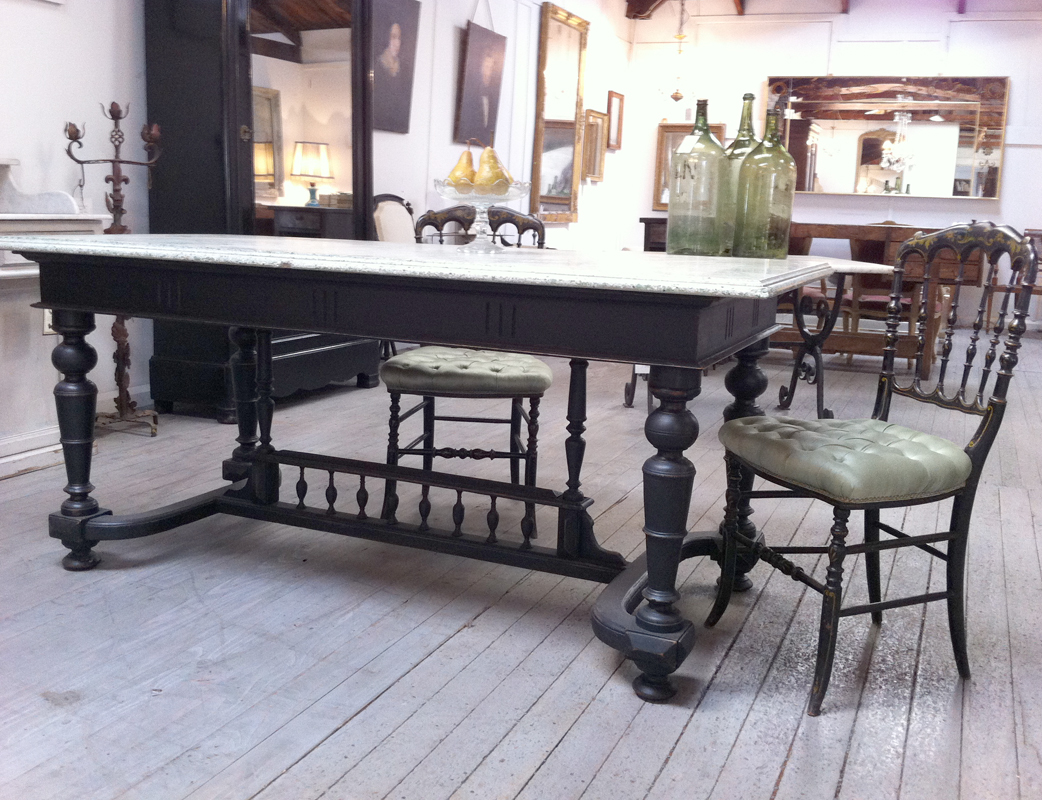 Colonial Shop Table From Vietnam