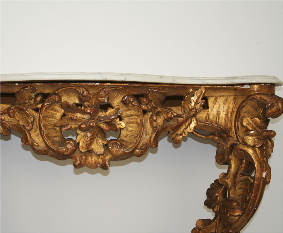 French 19th century louis 15 style console haunt for 19th century french cuisine