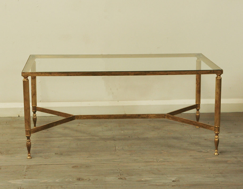 Jansen Coffee Table Maison Jansen Style Brass Coffee Table Haunt Antiques For The