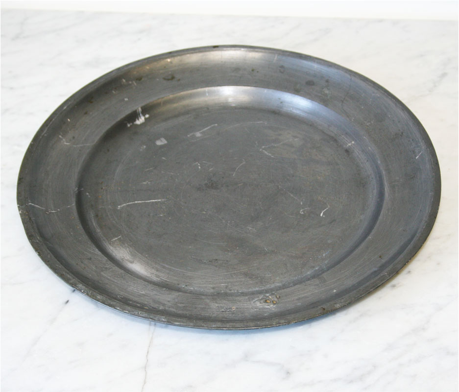 French pewter platter haunt antiques for the modern interior