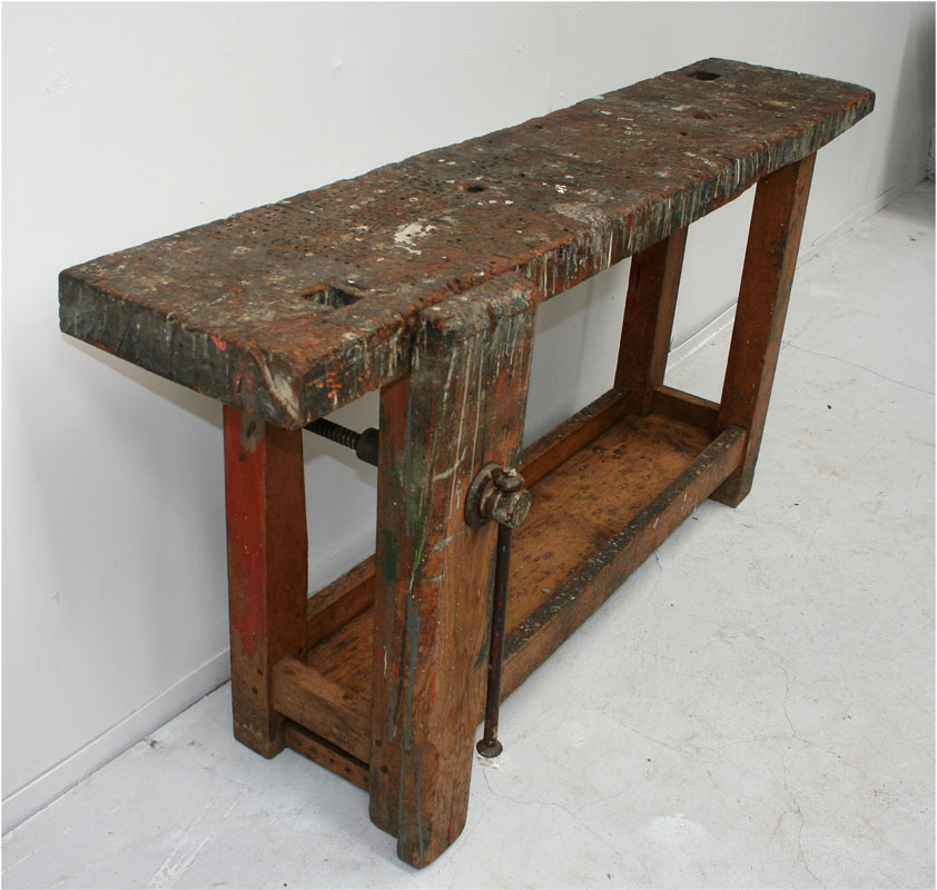 Petite French Workbench Haunt Antiques For The Modern Interior