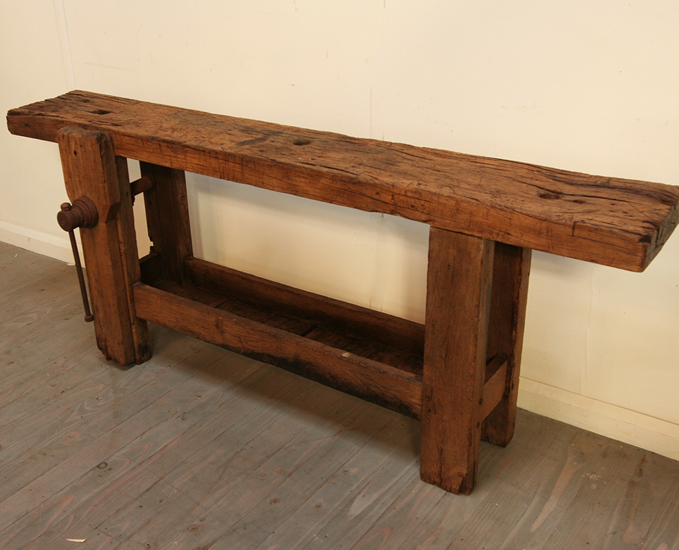 Small 19th Century Workbench Haunt Antiques For The Modern Interior