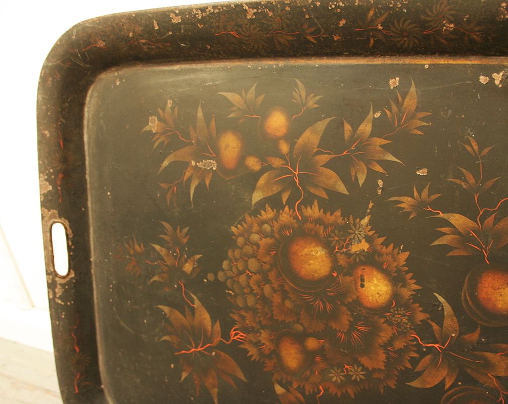 Large late 19th century french tray haunt antiques for for 19th century french cuisine