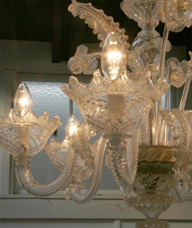 Classic Murano Chandeliers For Luxury Hotel In Florence: Venetian Murano Chandelier