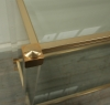 Pierre Vandel Lucite And Brass Console