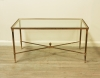 Neoclassical Brass Coffee Table