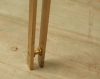 Pair Of Brutalist Style Brass Side Tables