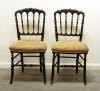 Pretty Pair Of 19th Century Side Chairs
