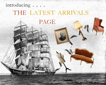 Introducing The Latest Arrivals Page