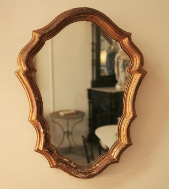 Small Italian Gilt Mirror