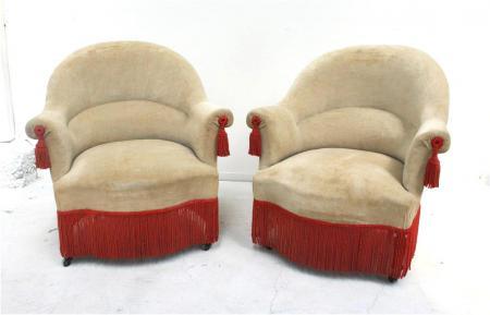 French Napoleon III Salon Chairs