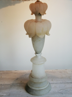 A Beautiful Alabaster Lamp