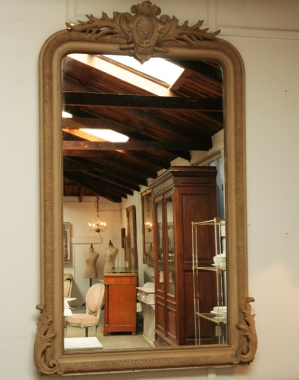 Louis Philippe Painted Mirror
