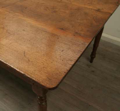 French Elm Dining Table