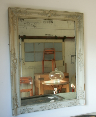 Painted Empire Pale Green Mirror