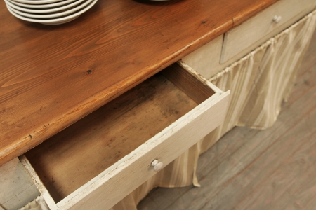 French Provincial Kitchen Side Table