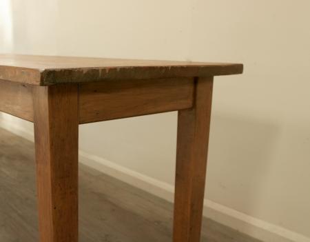Long Vintage Work Table