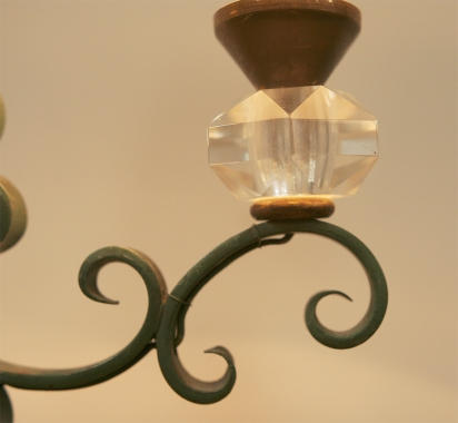 Pair Of French 1940's Table Lamps