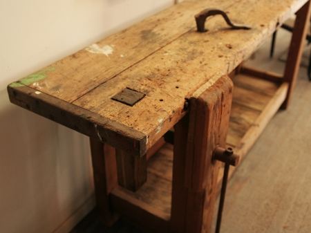 French 19th Century Workbench