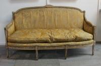 Louis 16 Style Gilt settee
