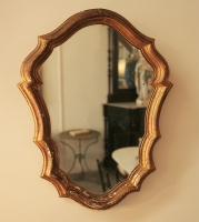 Small Italian Gilt Mirror