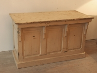 French Late 19th Century Painted Counter Or Desk