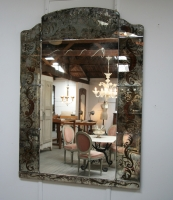 Venetian Églomisé Mirror