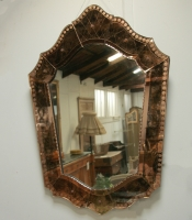 Venetian Champagne Glass Mirror