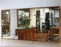 French 1940's mirror