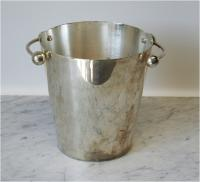 1970's French Silvered Champagne Bucket