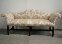 Irish Georgian Period Settee