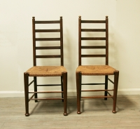Pair Of Ladder Back Chairs