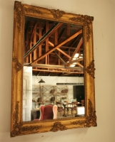 Late Empire Gilt Mirror