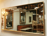 Mid Century French Empire Style Mirror