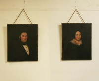 Pair Of French 19th Century Portraits
