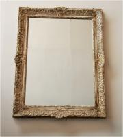 Rustic French Règence Style Mirror