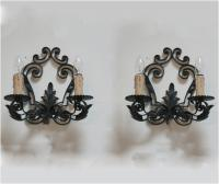 Spanish Scrolled Sconces